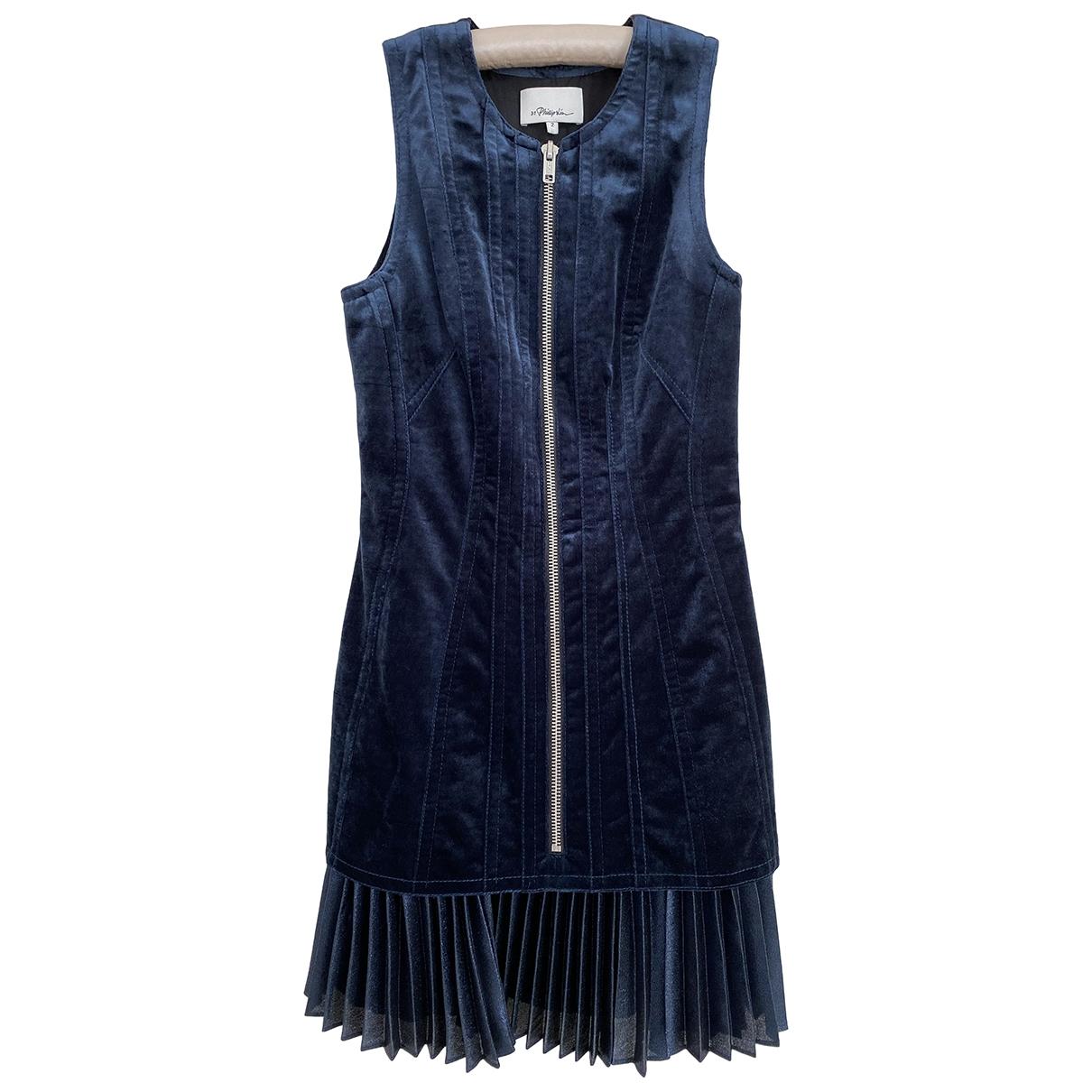 3.1 Phillip Lim \N Kleid in  Blau Polyester