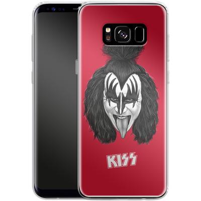 Samsung Galaxy S8 Silikon Handyhuelle - The Demon von KISS®