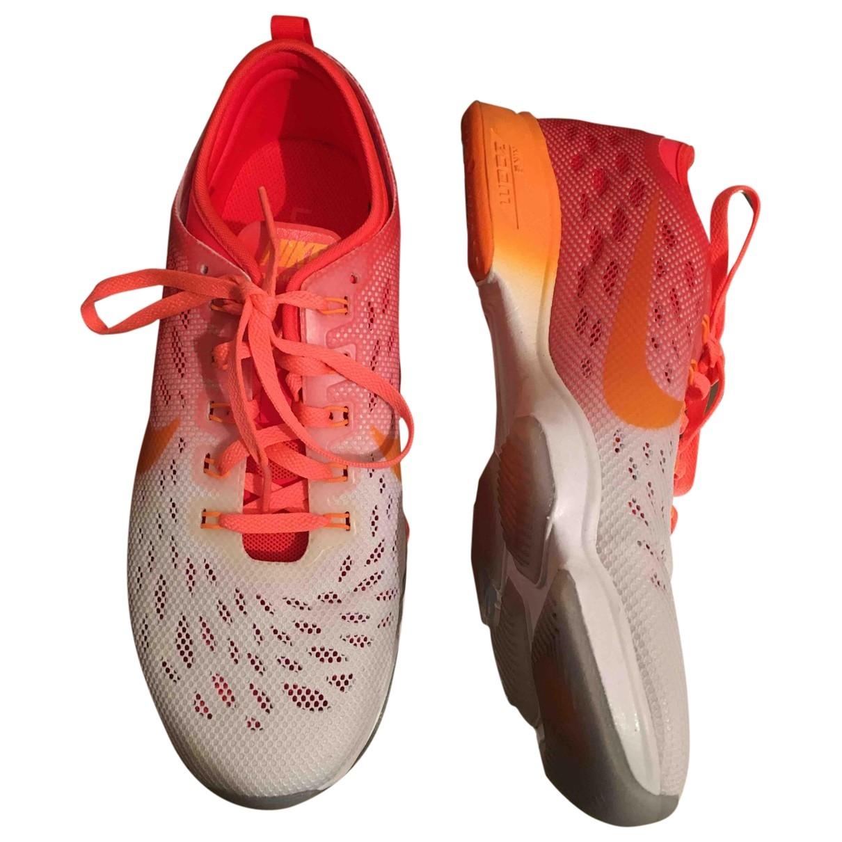 Nike - Baskets Zoom pour femme en toile - multicolore