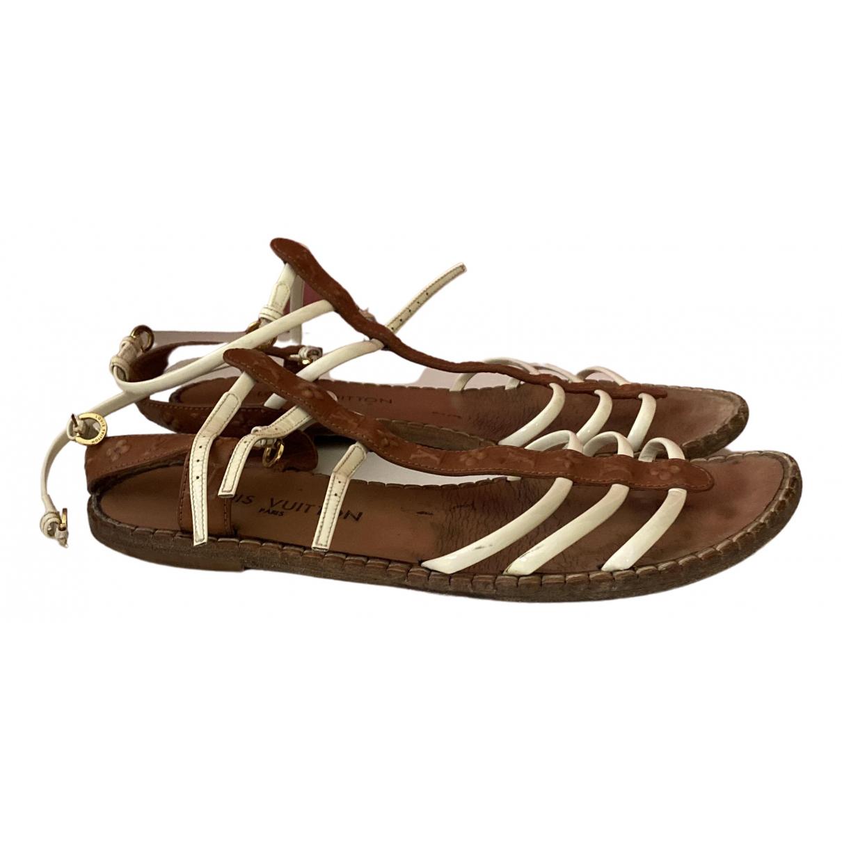 Sandalias romanas de Cuero Louis Vuitton