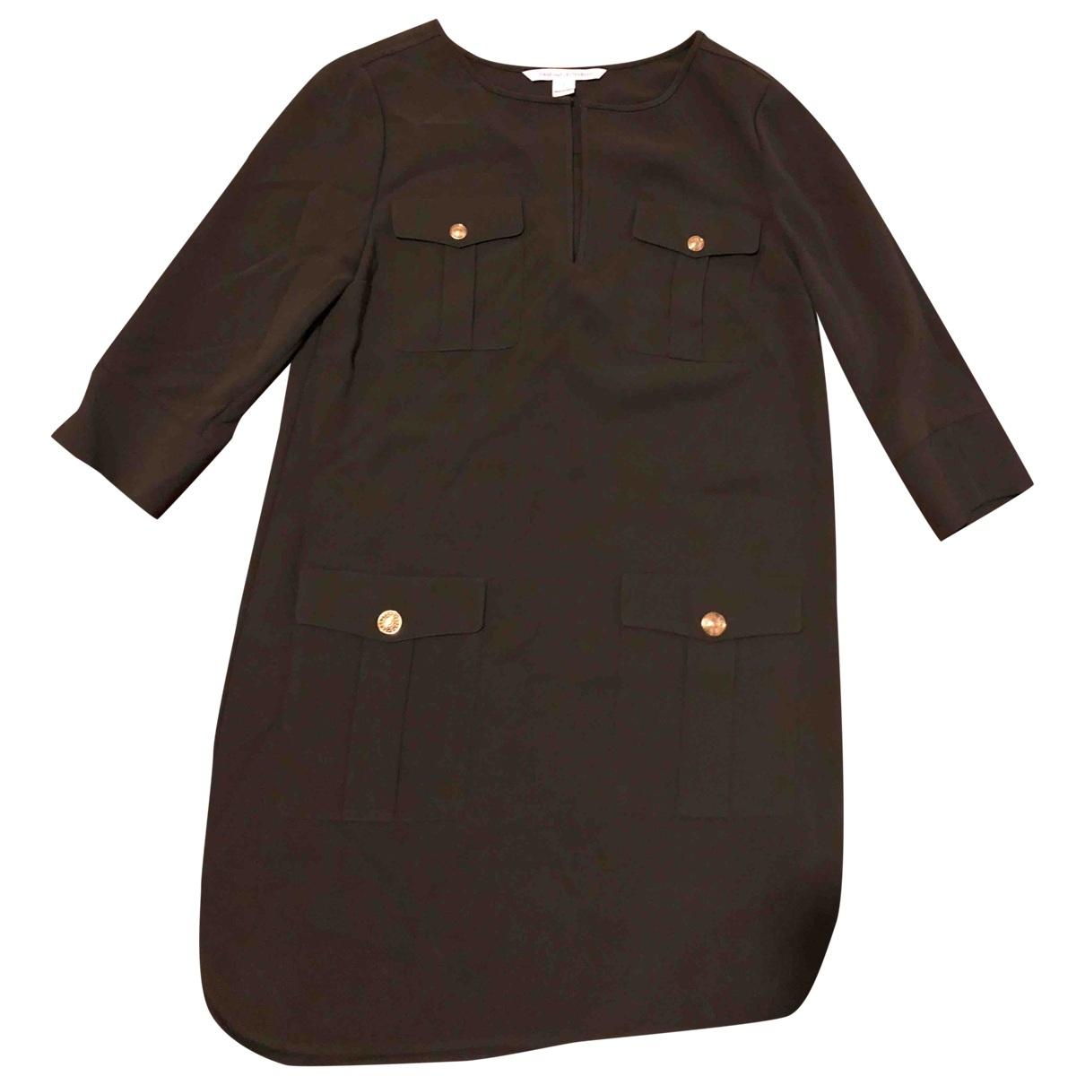 Diane Von Furstenberg - Robe   pour femme - kaki