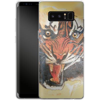 Samsung Galaxy Note 8 Silikon Handyhuelle - Tiger von Kaitlyn Parker