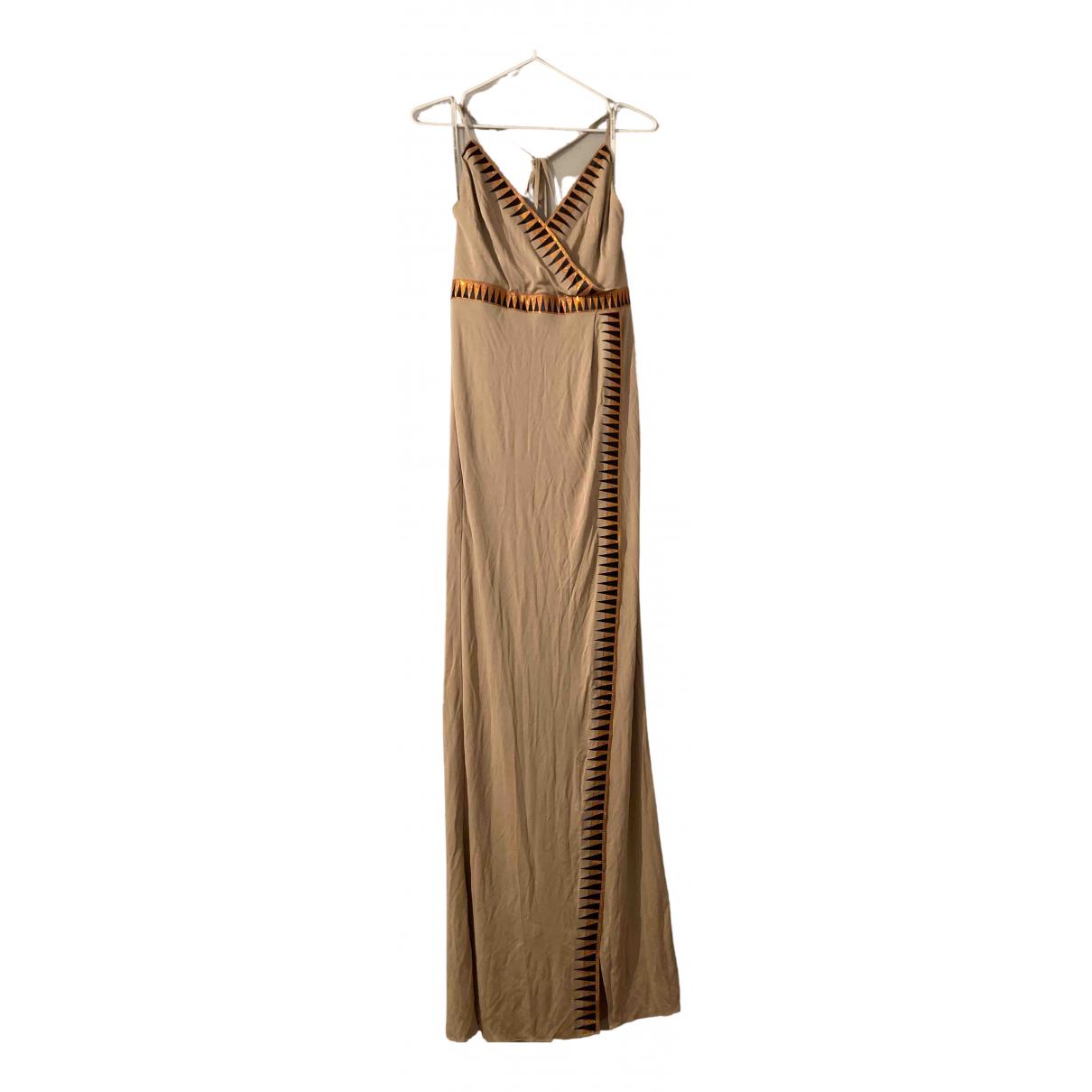 Versace - Robe   pour femme - camel
