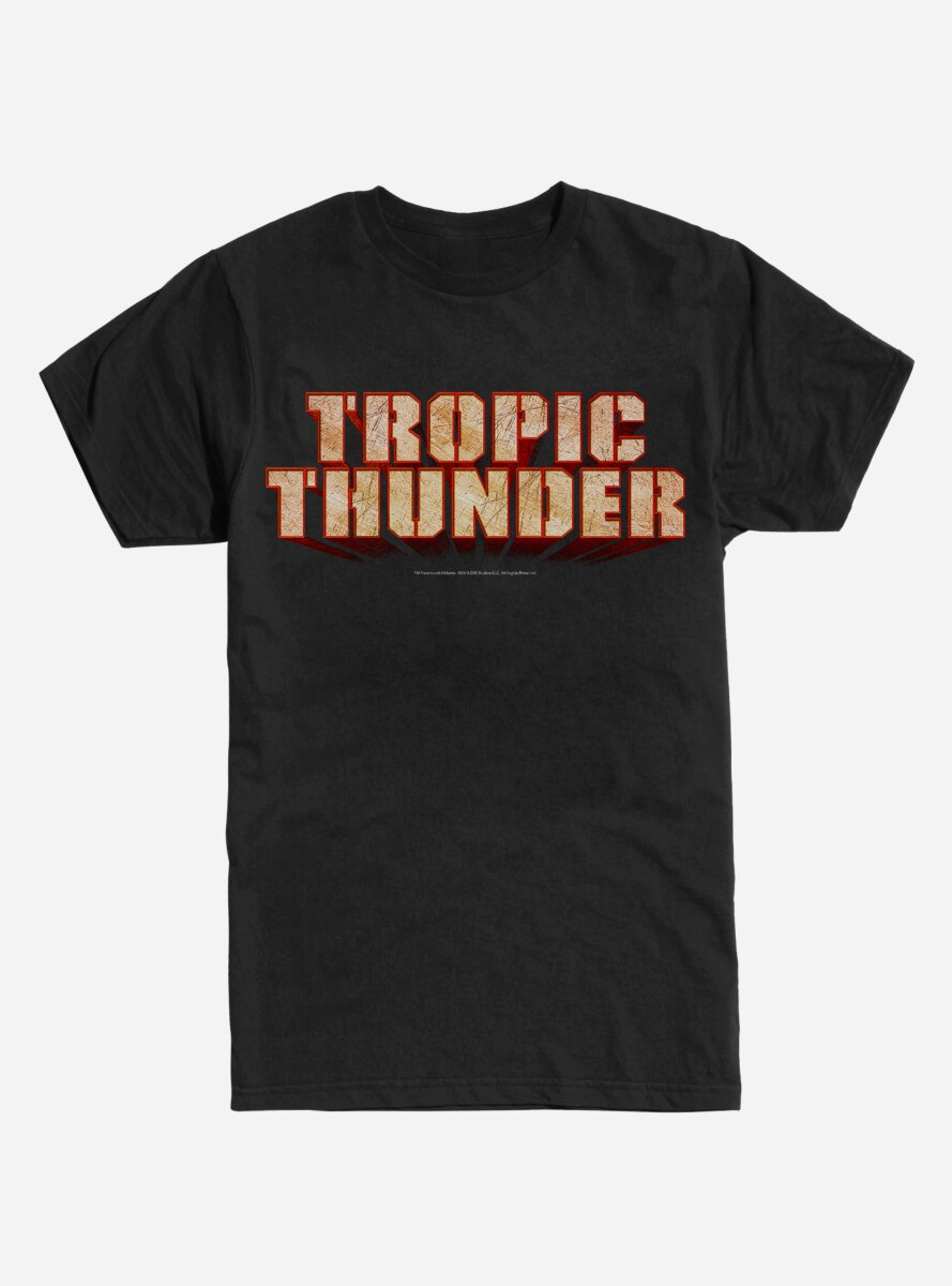 Tropic Thunder Logo T-Shirt