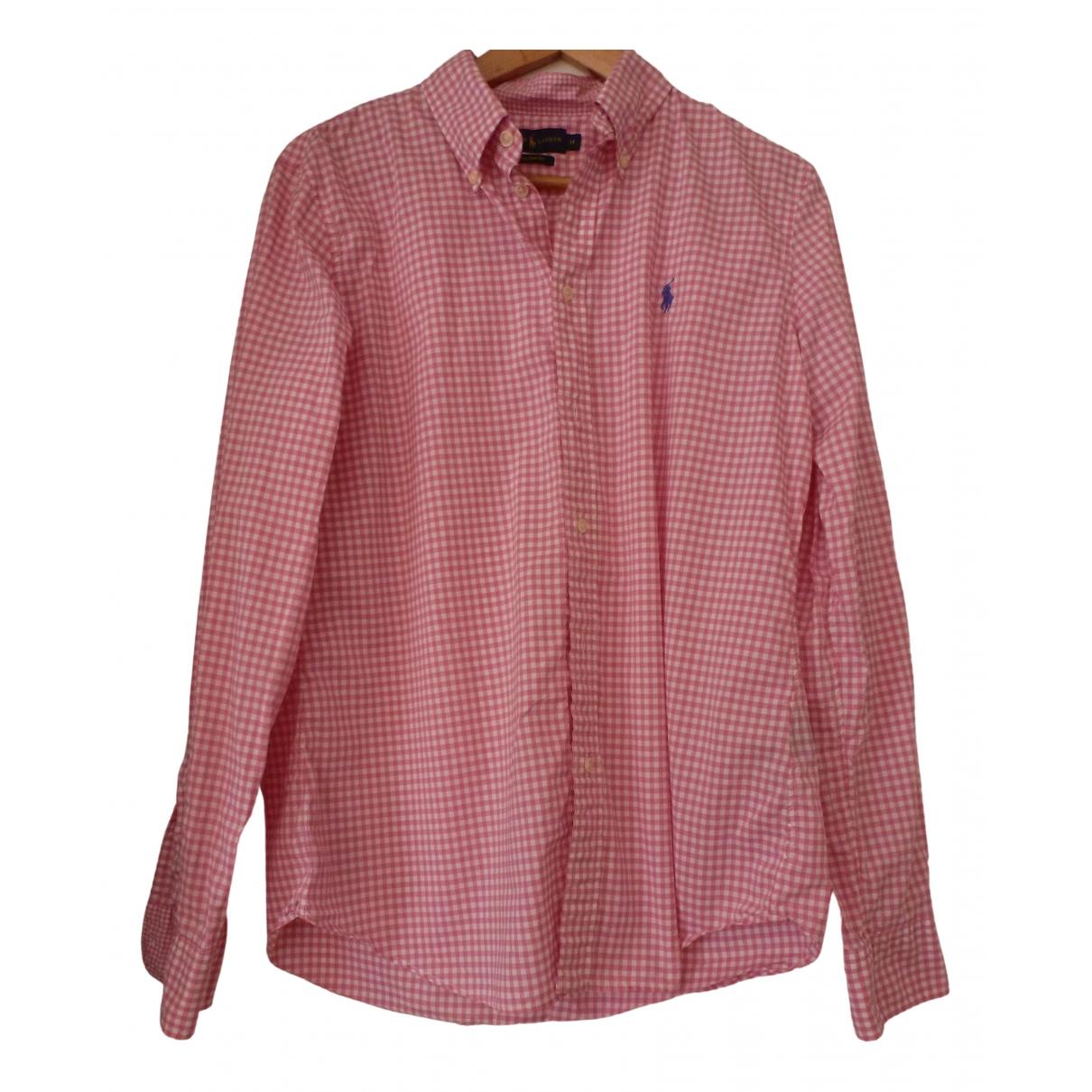 Ralph Lauren \N Pink Cotton Shirts for Men M International