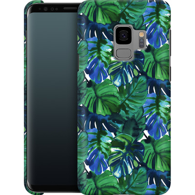 Samsung Galaxy S9 Smartphone Huelle - Welcome to the Jungle Palm Deep von Amy Sia