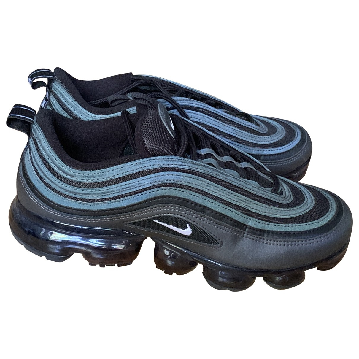 Nike Air VaporMax Sneakers in  Schwarz Kunststoff