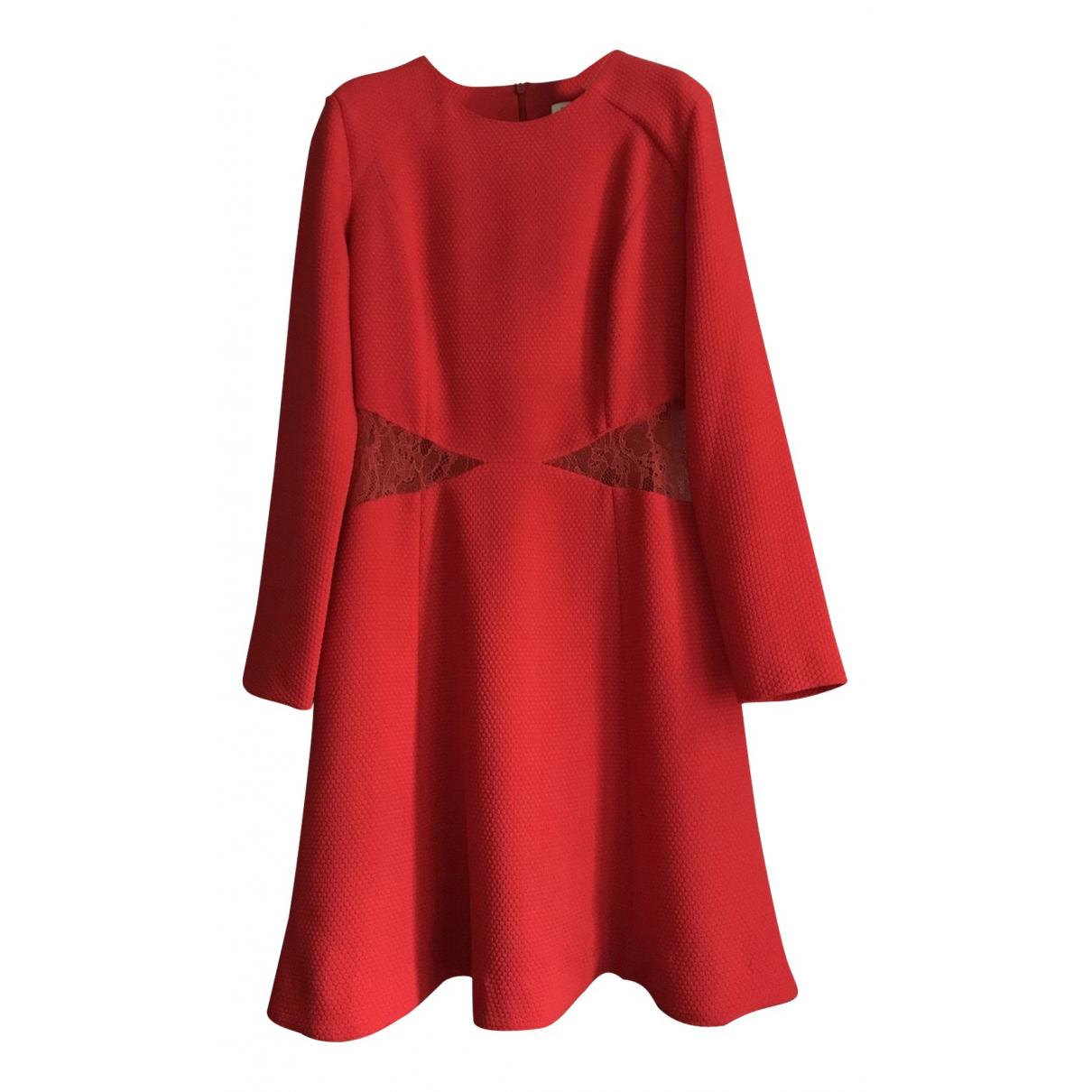 Sandro \N Red dress for Women 2 0-5