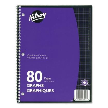 Hilroy Trois trous de poing 80 Pages Graphiques