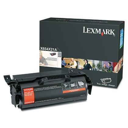Lexmark X654X21A cartouche de toner originale noire extra haute capacité