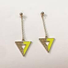 Triangular Drop Earrings