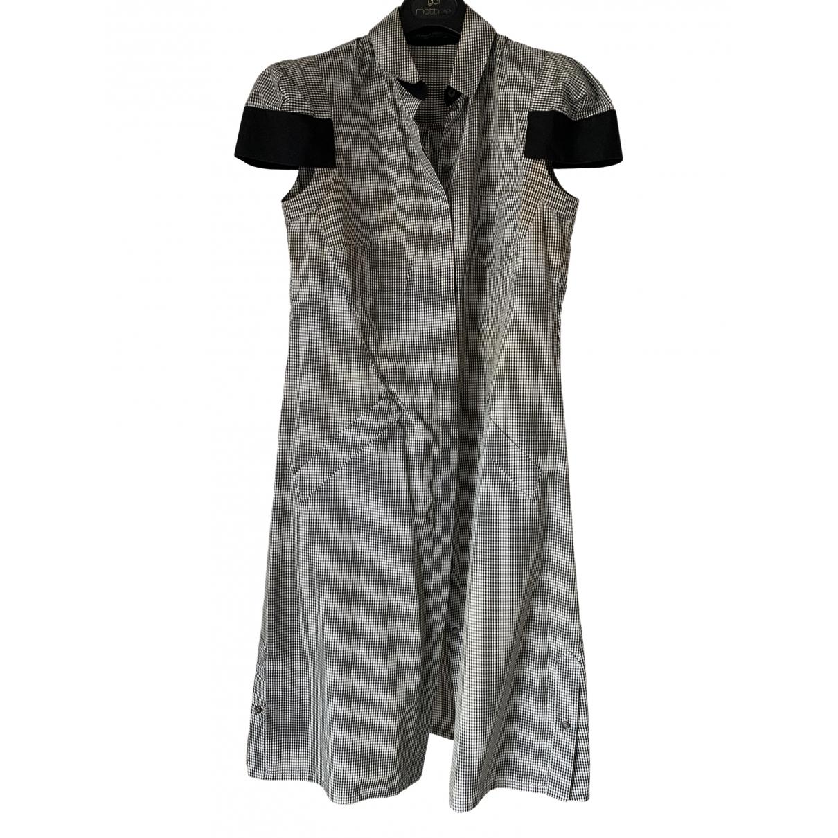 Alexander Mcqueen \N White Cotton dress for Women 42 IT