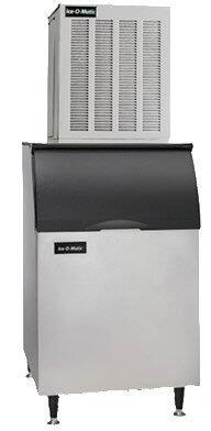 MFI1506A Flake Ice Maker with Air Condenser Unit  1450 lbs. Ice Production Per 24 Hours  SystemSafe  Heavy-Duty Gear Box  Evaporator  Water Sensor