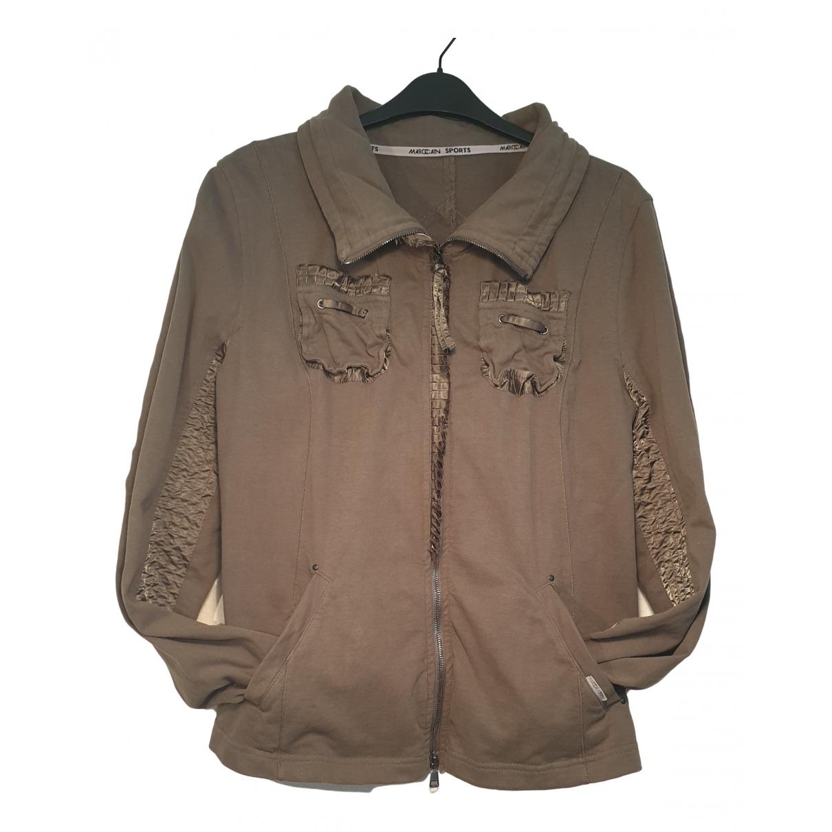 Marc Cain \N Green Cotton Knitwear for Women 4 0-5