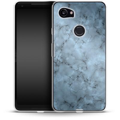 Google Pixel 2 XL Silikon Handyhuelle - Blue Marble von caseable Designs
