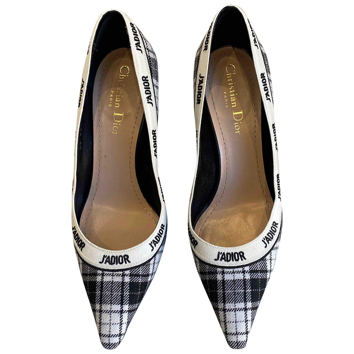 Dior - Escarpins   pour femme en tweed - noir