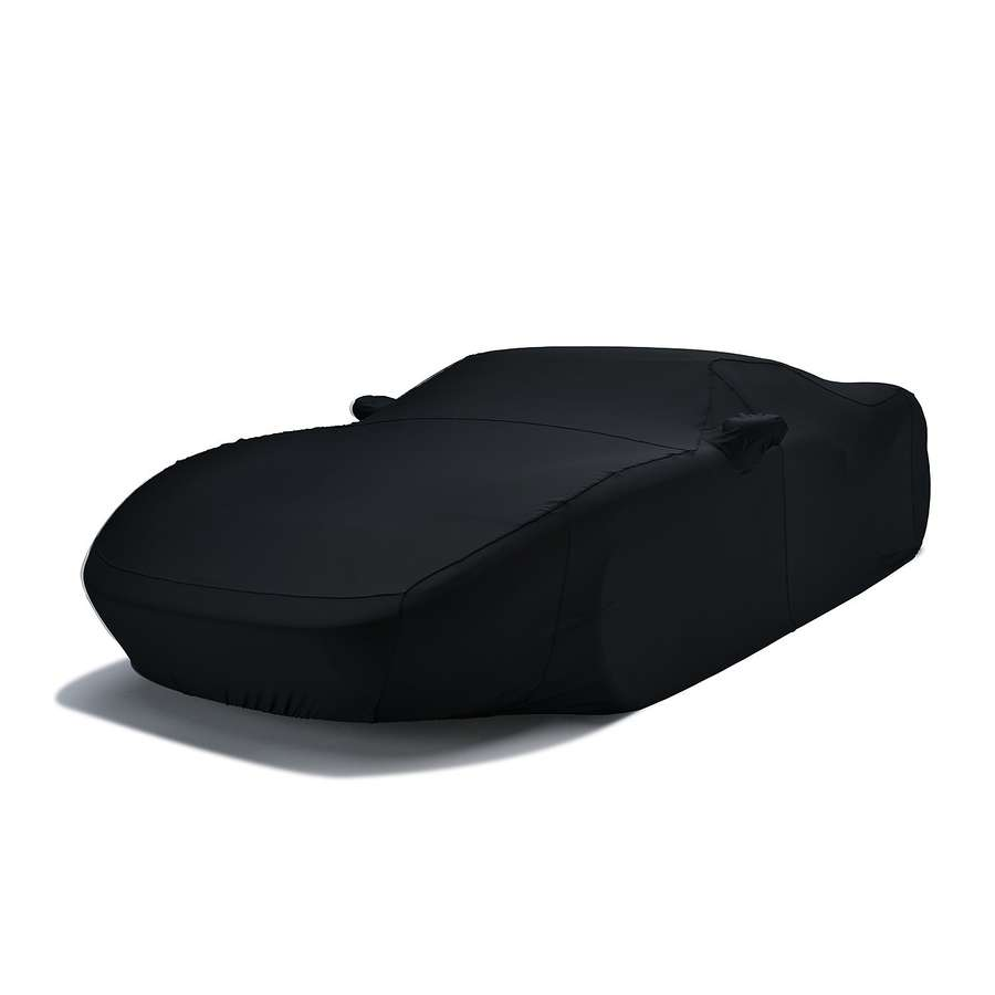Covercraft FF17389FB Form-Fit Custom Car Cover Black Scion iQ 2012-2015