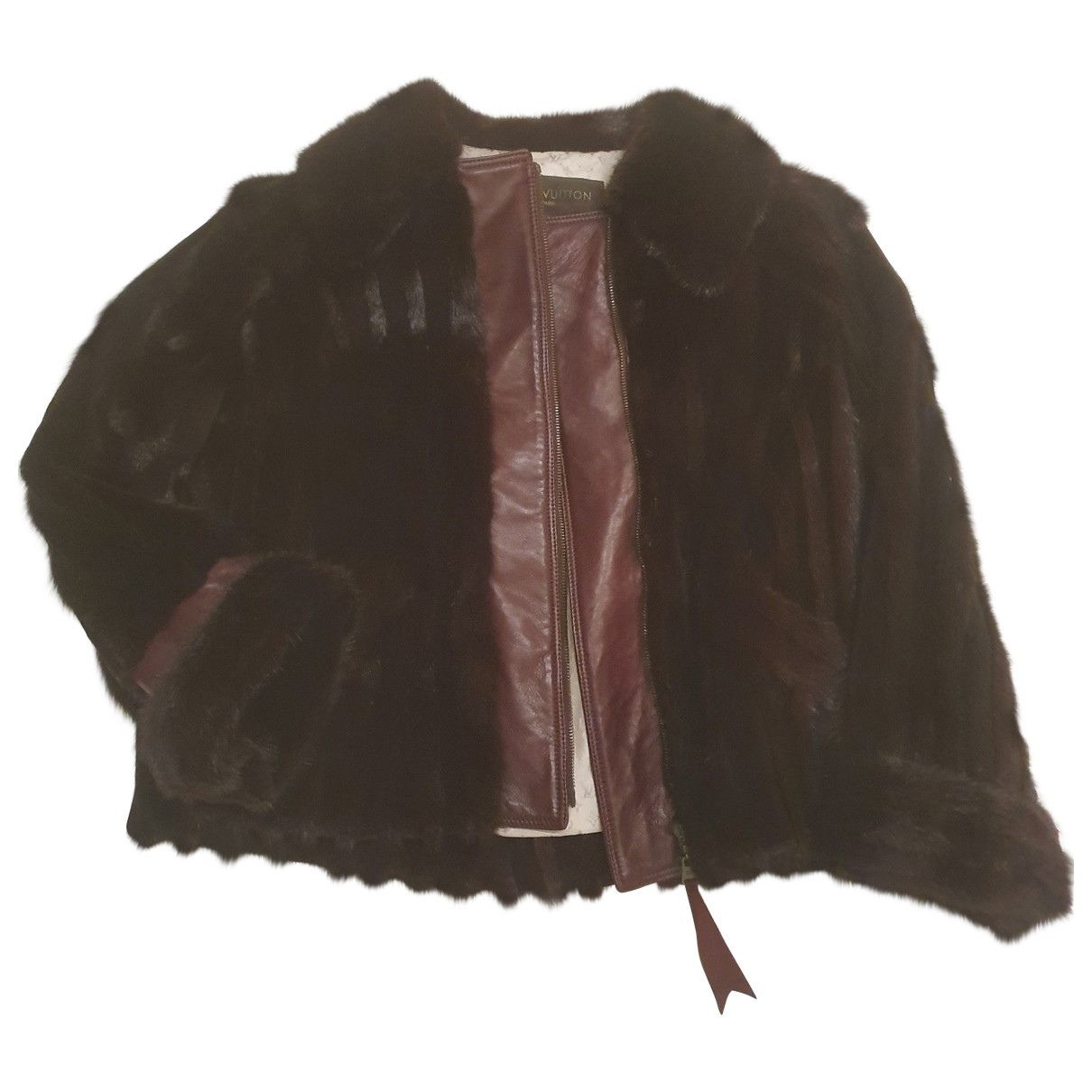 Louis Vuitton \N Brown Mink jacket for Women 38 FR