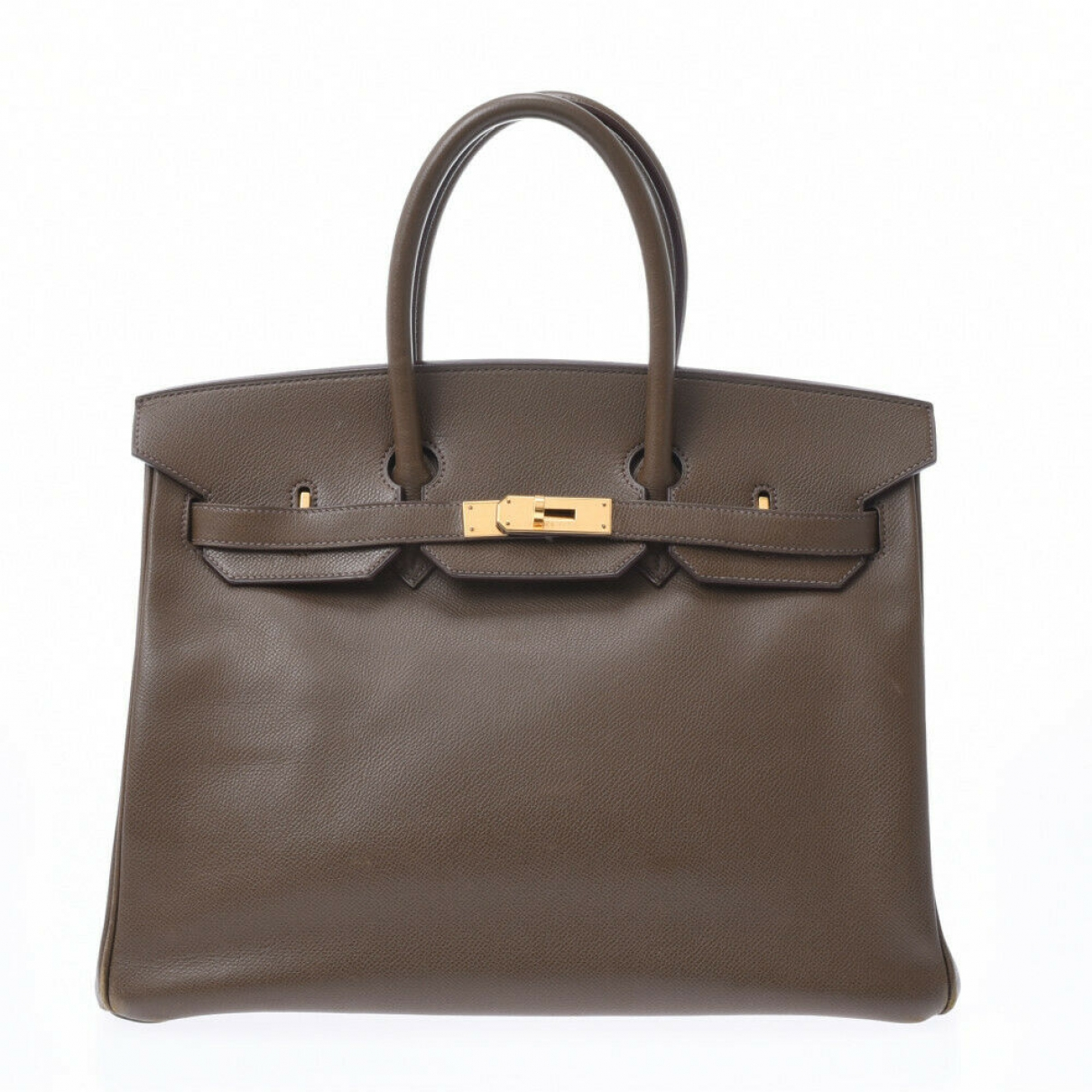 Hermès Birkin 35 Brown Leather handbag for Women \N