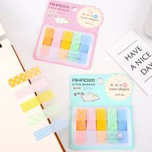 100 Sheets Translucent Waterproof Sticky Note
