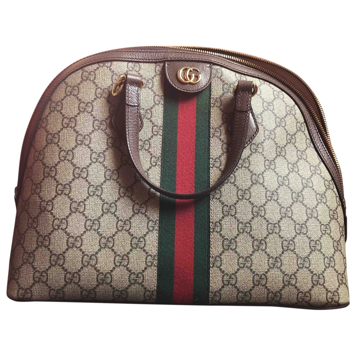 Gucci Ophidia Beige Cloth handbag for Women \N