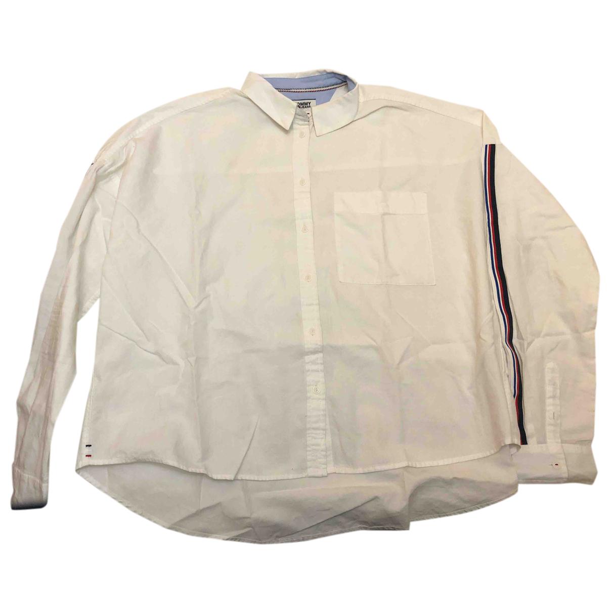 Tommy Hilfiger - Top   pour femme en coton - blanc