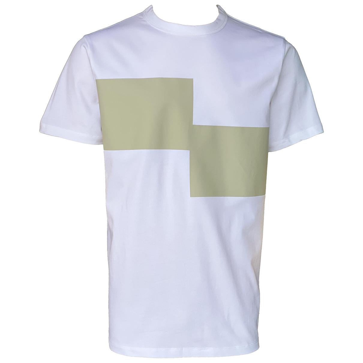 Cos - Tee shirts   pour homme en coton - blanc