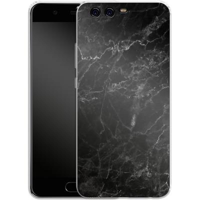 Huawei P10 Silikon Handyhuelle - Midnight Marble von caseable Designs