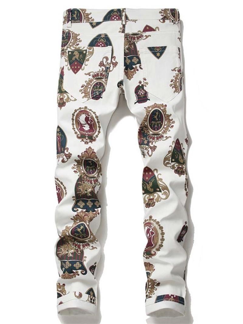 Ericdress Pencil Pants Men's Casual Jeans
