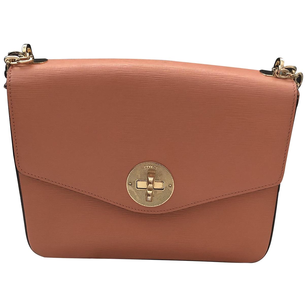 Bally \N Orange Leather handbag for Women \N