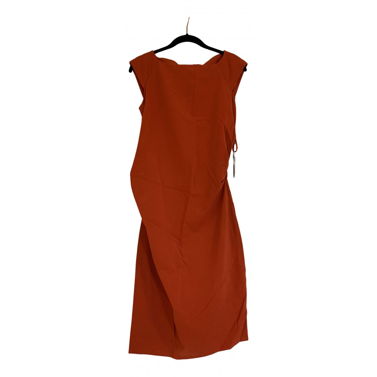 Diane Von Furstenberg - Robe   pour femme - orange