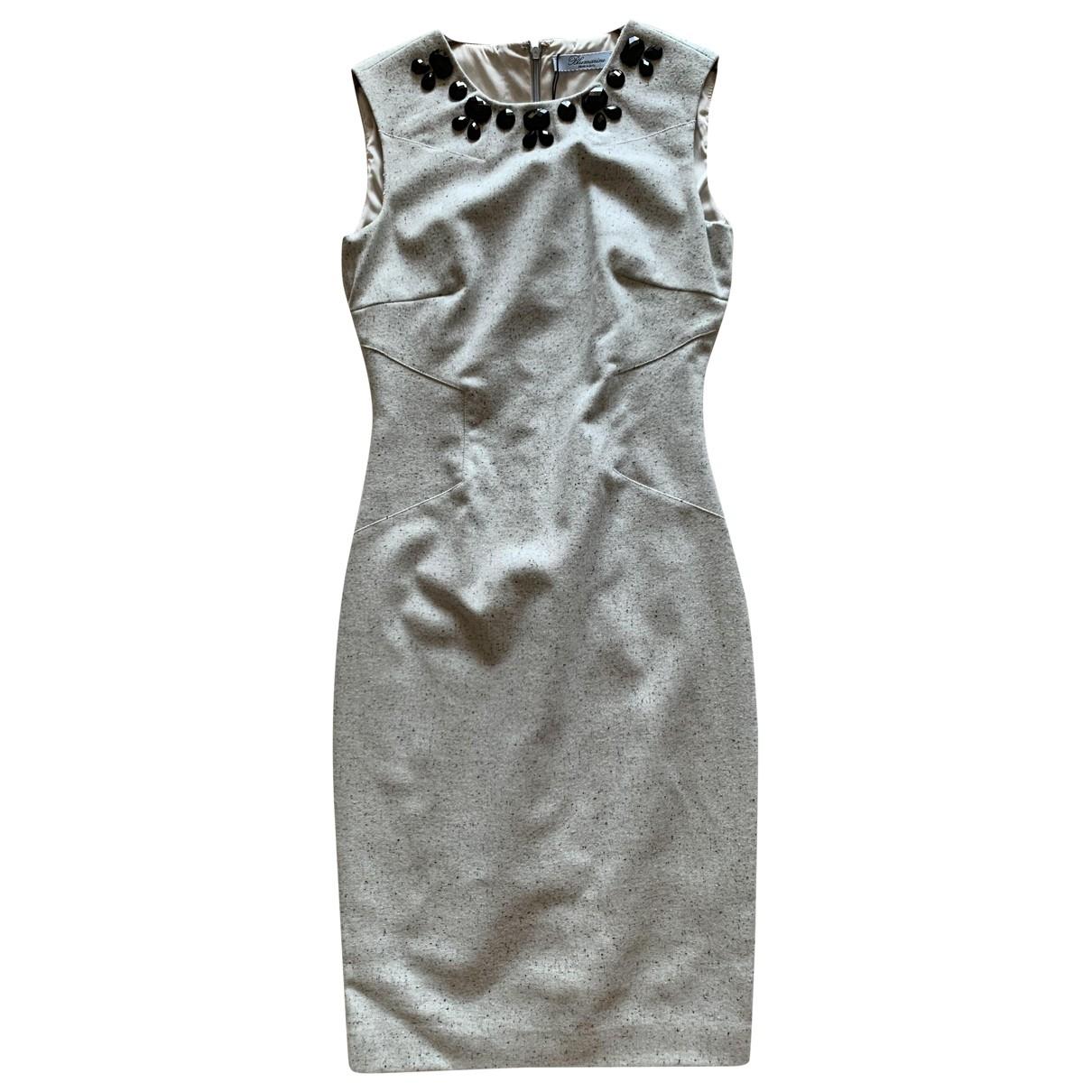 Blumarine \N Kleid in  Blau Wolle