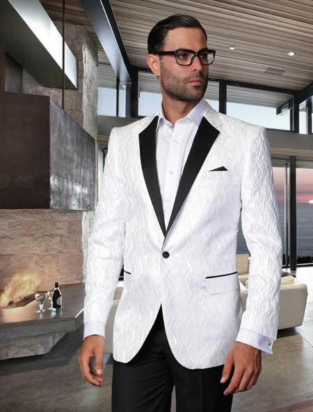 Mens Sport Coat Sequin Shiny Flashy Silky Satin Stage Fancy Stage