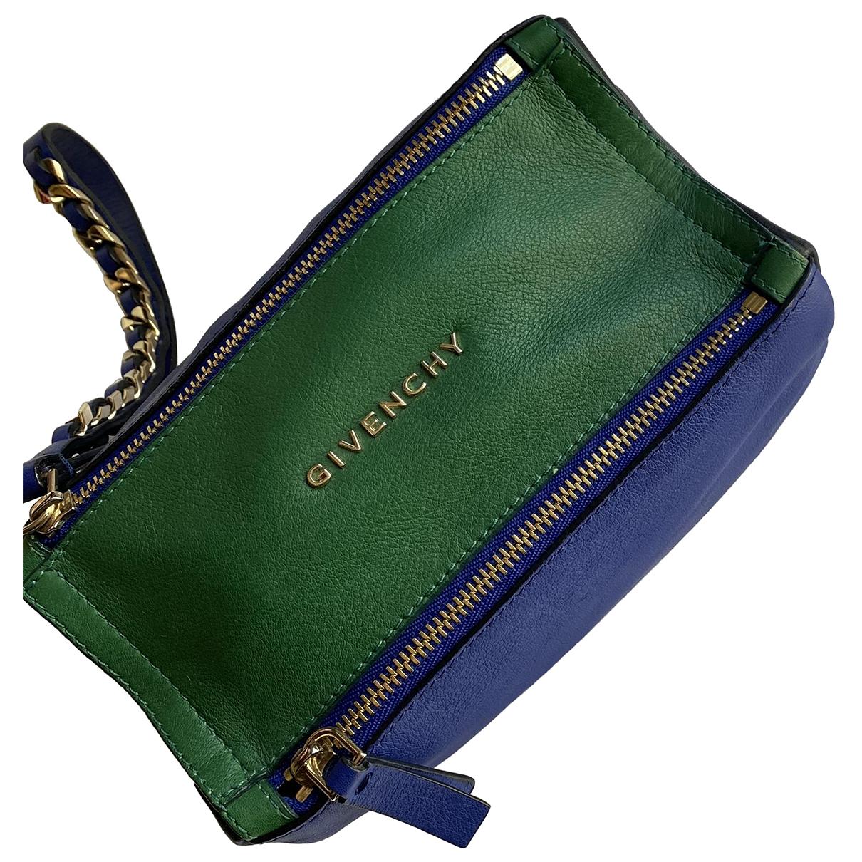 Givenchy - Pochette   pour femme en cuir - multicolore