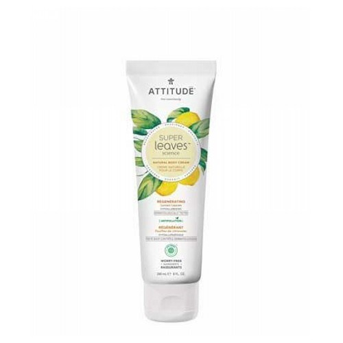 Natural Body Cream Soothing 8.1 Oz by Attitude