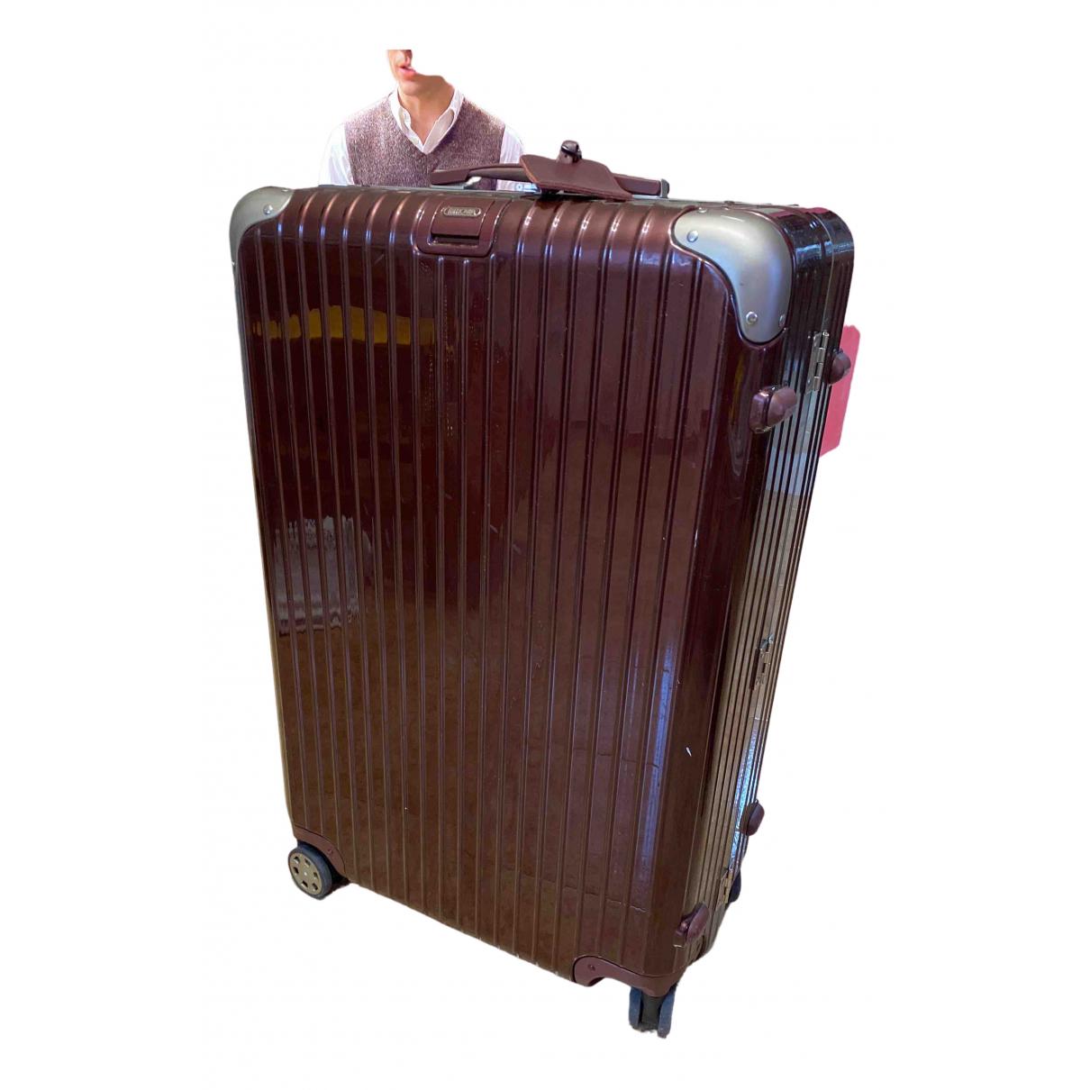 Viajes Trunk size Rimowa