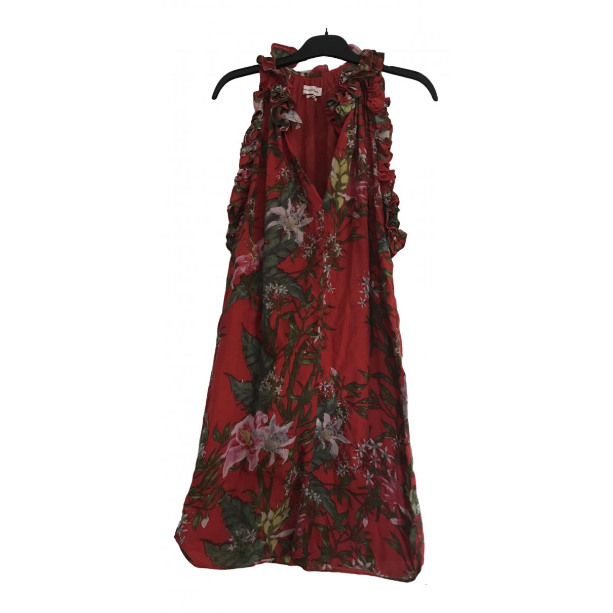 Isabel Marant Etoile \N Red Cotton dress for Women 36 FR