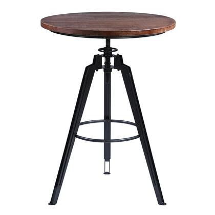 LCTRPUGMPI Tribeca Pub Table in Industrial Grey Finish with Ash Wood