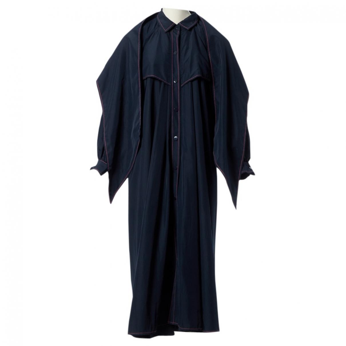 Ganni - Manteau   pour femme - marine