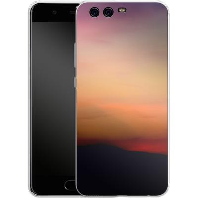 Huawei P10 Silikon Handyhuelle - Sunset von Joy StClaire