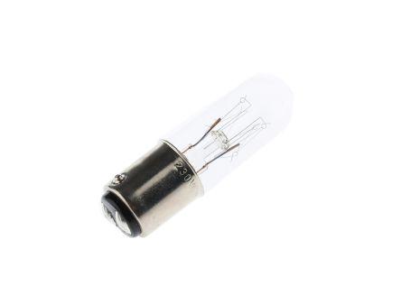 Werma BA15d Incandescent Bulb, Clear, 230 V, 30 mA (4)
