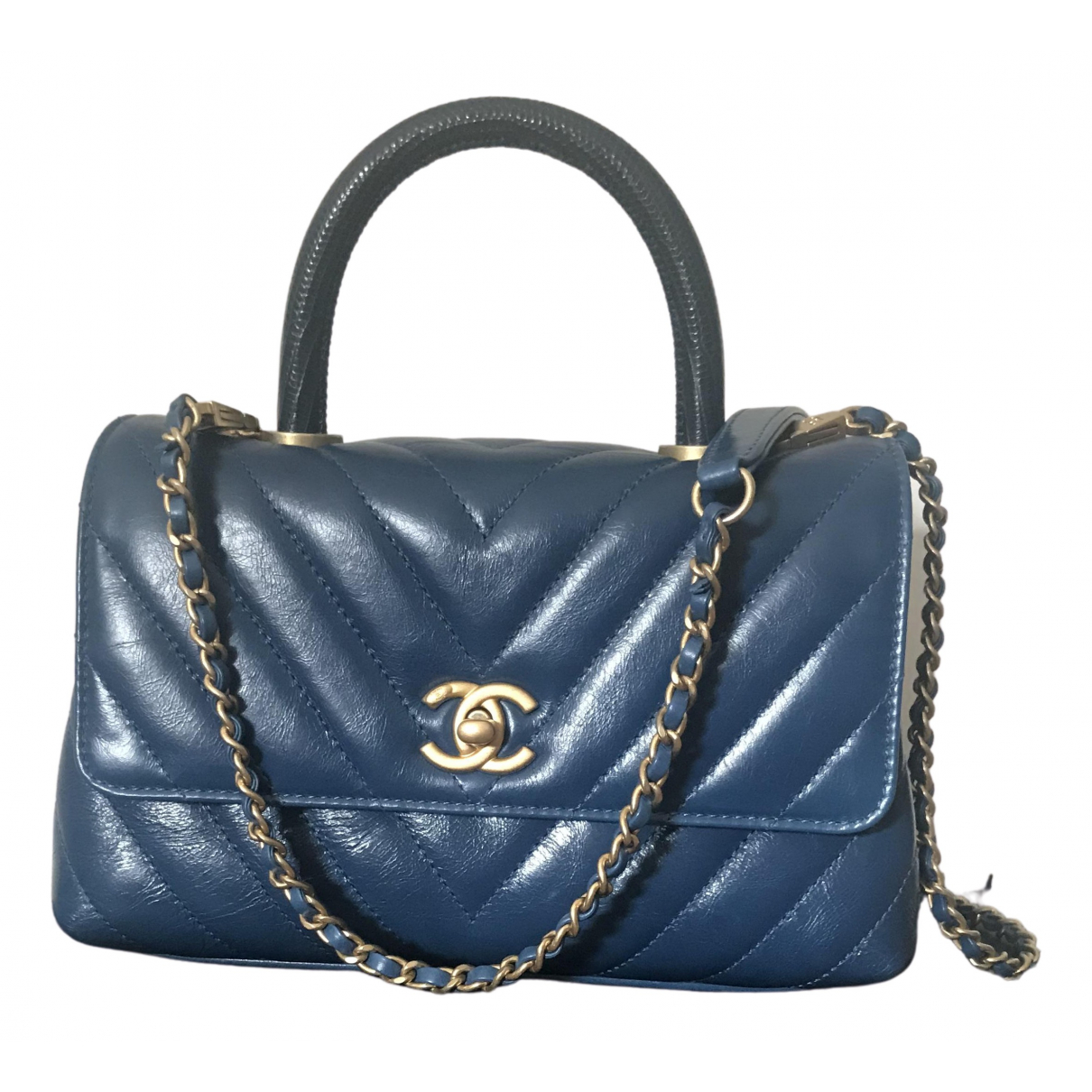 Bolso  Coco Handle de Cuero Chanel