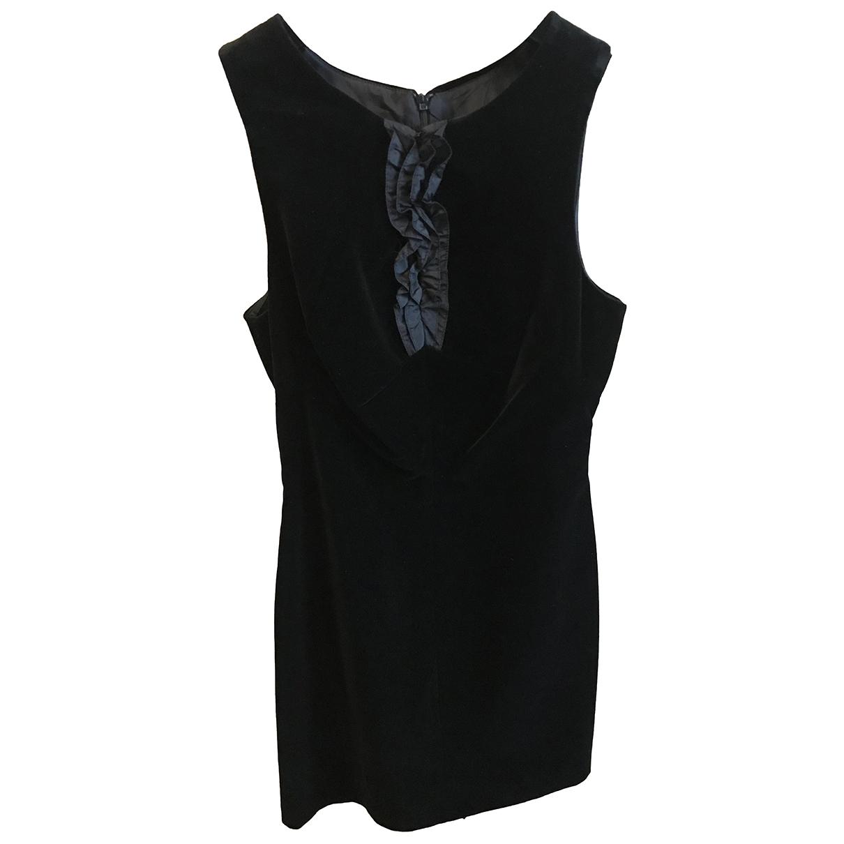 Aspesi \N Kleid in  Schwarz Baumwolle