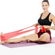 1 Stueck Yoga Dehnungswiderstandsband