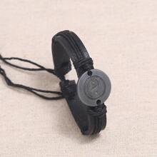 Men Tai Chi Decor Bracelet