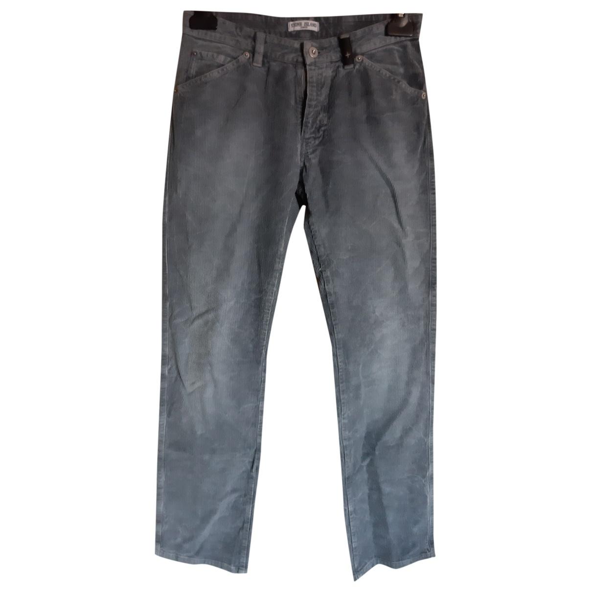 Stone Island \N Velvet Trousers for Kids 14 years - S FR