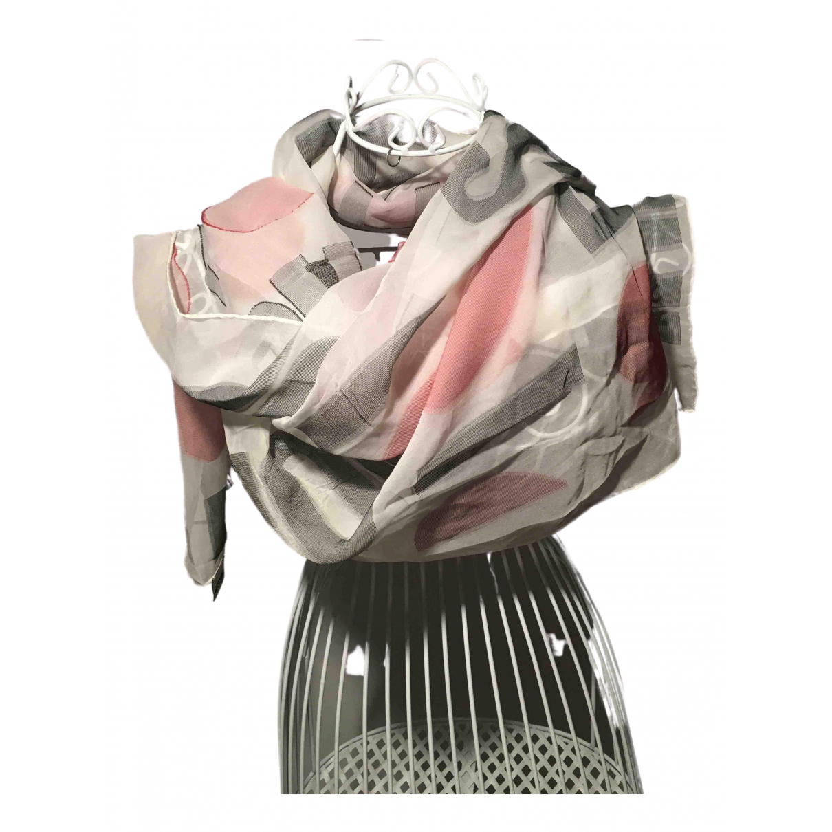 Moschino Cheap And Chic N Silk scarf for Women N