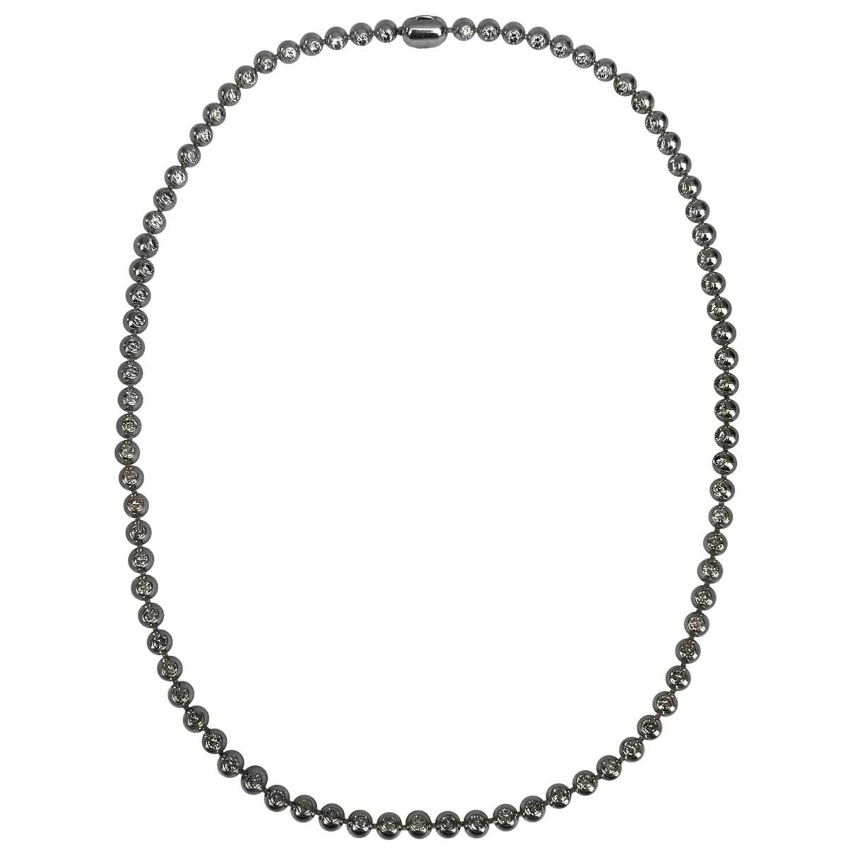Cartier - Collier   pour femme en or blanc - argente