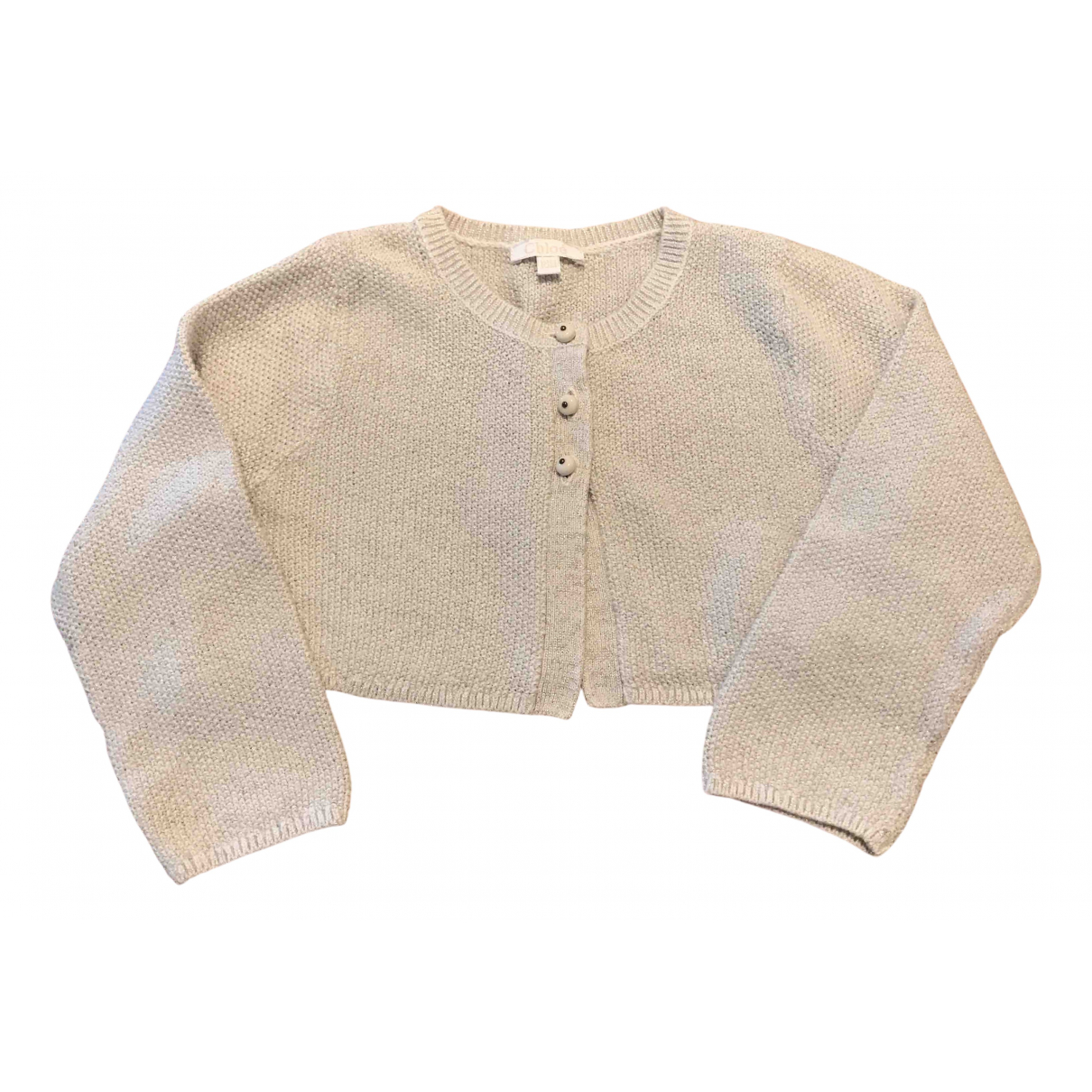 Chloé N Beige Cotton Knitwear for Kids 18 months - up to 81cm FR