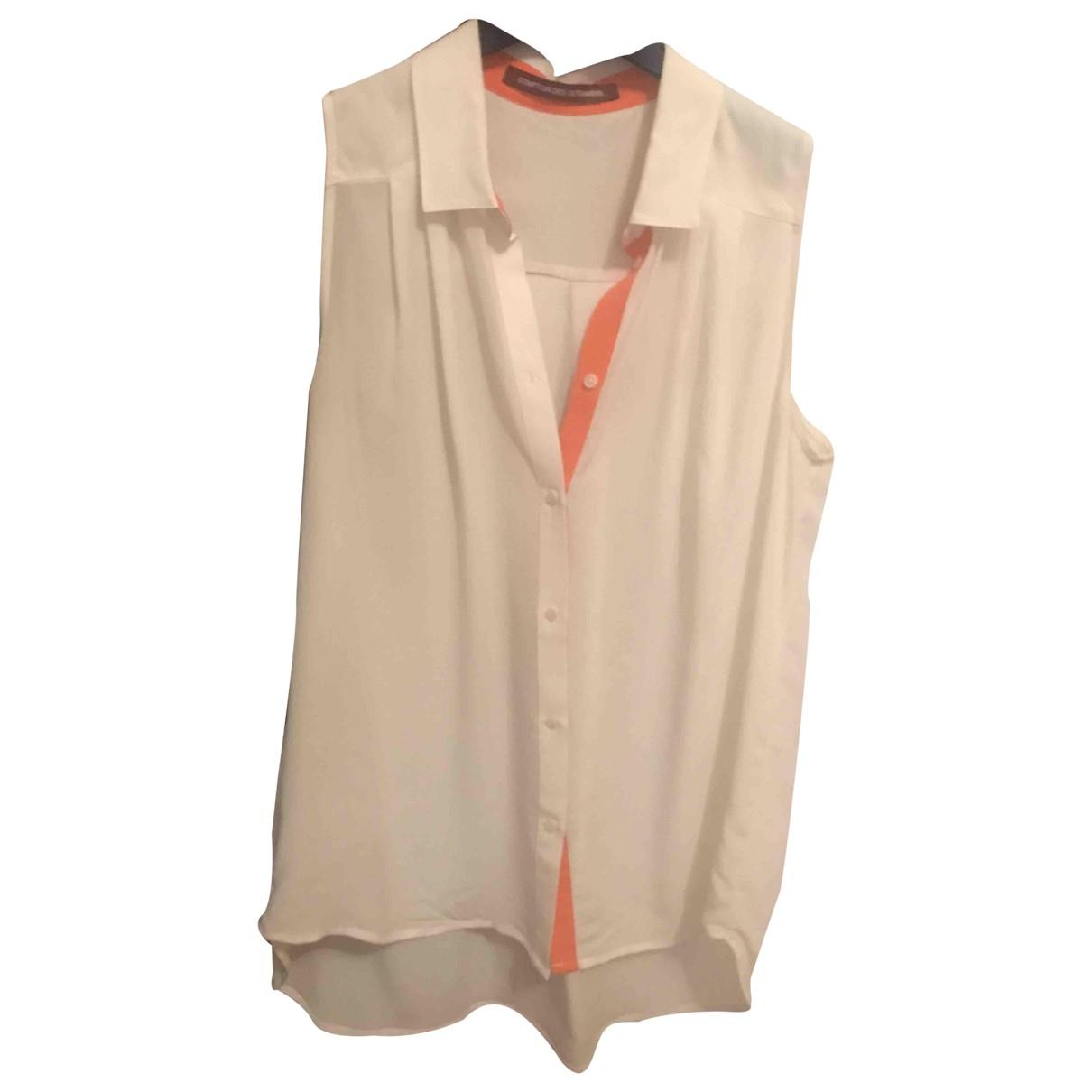Comptoir Des Cotonniers - Top   pour femme en coton - beige